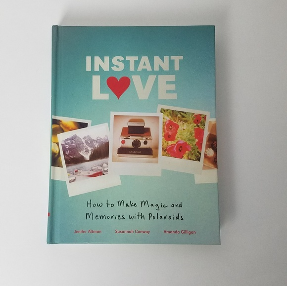N A Other Instant Love Polaroid Coffee Table Book Poshmark